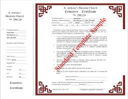 obtaining a customized deed report rights to burial certificate
