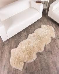 Cheap Sheepskin Rugs 2 Pelt Stone Sheep Fur Rug Double Fursource Com