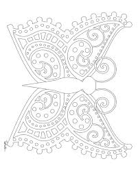 symmetry coloring sheets butterfly grig3 org
