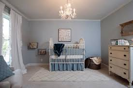 fun colorful nursery with a great mix of modern and vintage