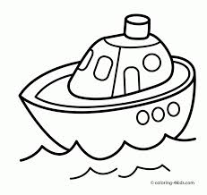 submarine transportation coloring pages kids printable free