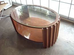 Art Deco Armchairs For Sale Coffee Table Rustic Meets Elegant In Art Deco Glass Coffee Table
