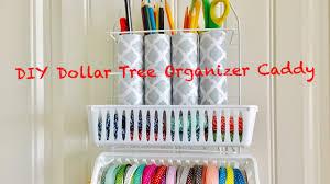 diy dollar tree craft organizer caddy easy less than 3 youtube