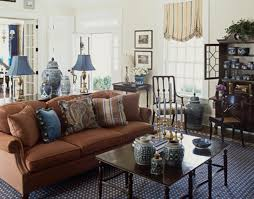 Traditional Living Room Interior Design - modern home interior design trend light blue and brown living room