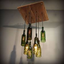 Wine Glass Pendant Light Pendant Lights Creative Of Wine Bottle Light Fixture Chandelier