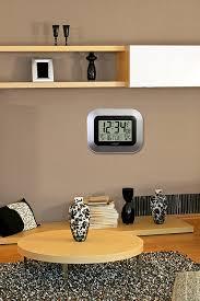 la crosse technology ws 8115u s digital wall clock with indoor and la crosse technology ws 8115u s digital wall clock with indoor and outdoor tempe new free shipping