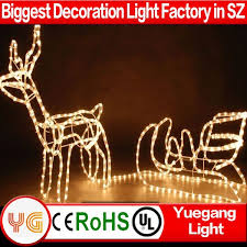 large outdoor reindeer christmas decorations large outdoor