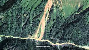 India Satellite Map by Himalayan Mountains View From Satellite Map In Google Earth