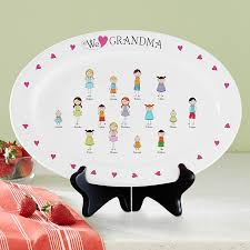 monogrammed platters personalized platters serving trays at personal creations