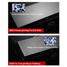 grinder double sided diamond design sharpening stone kitchen knife