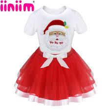 2017 new girls kids baby christmas tree santa claus reindeer
