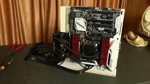 Pc Case Diy Diy Vertical Open Air Case Ultimate 4k Vfx Edit U0026 Di Hackintosh