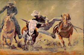 posted in acrylic painting figures western art