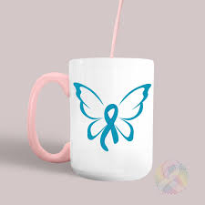 awareness butterfly ribbon sofontsy