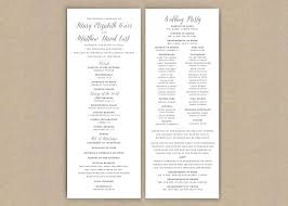 printed wedding programs printed wedding programs classic grey flat 2697436 weddbook