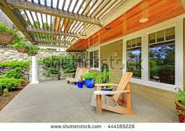 Backyard View House Deck Stock Images Royalty Free Images U0026 Vectors Shutterstock