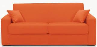 canap convertible orange canapé convertible revêtement microfibre orange stener modéle 2