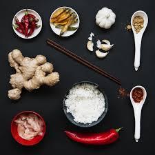 la cuisine asiatique baguettes et ingrédients pour la cuisine asiatique télécharger des