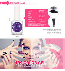 selling gelpolish nail polish soak off nail gel for salon uv