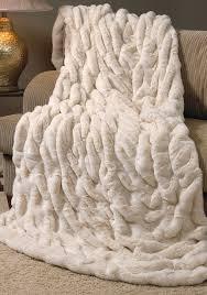 Faux Fur Throw Pillow Austanding Faux Fur Blanket U2014 Pillow And Blanket Faux Fur