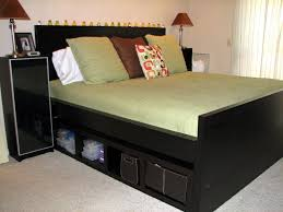 bed frames with storage space u2014 optimizing home decor ideas bed