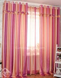 orange bedroom curtains organic print poly cotton orange and pink print romantic bedroom