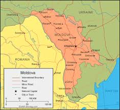 where is moldova on the map moldova map and satellite image