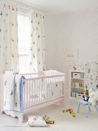 Unisex Nursery Curtains Churchill S Alphabet Wallpaper Emb Beatrix Potter Blanket