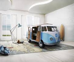 volkswagen bus a limited edition vw bus inspired kids bed design milk