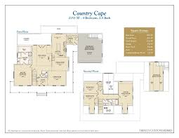 cape house floor plans floor plans custom homes