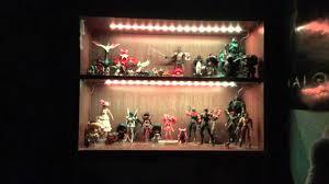 bookcase lighting showcase youtube