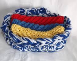Kitchen Gift Baskets Crochet Gift Basket