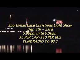 sportsman lake park cullman al christmas lights sportsman lake christmas lights youtube