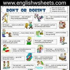 44 best esl printable worksheets for kids images on pinterest