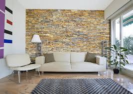 Stone Wall Tiles For Living Room Rustic Copper Slate Split Face Tiles Modern Living Room