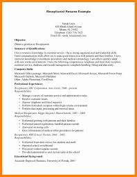 9 medical receptionist resume sample letter signature