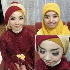 tutorial makeup natural hijab pesta before after makeup natural ala hijabers places to visit pinterest