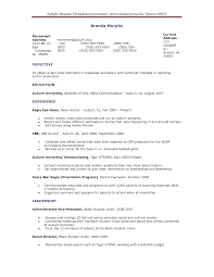Resume Sample Internship by Sample Resume Journalism Internship Augustais