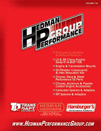 trans dapt u0026 hamburger u0027s performance products catalog by hedman