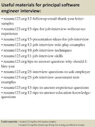 Resume Templates For Software Engineer Top 8 Principal Software Engineer Resume Samples