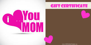 certificate happy birthday gift certificate template