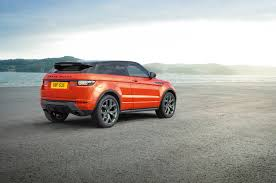 orange range rover evoque 2016 range rover evoque teased ahead of geneva launch