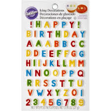 edible numbers letters numbers edible icing decorations wilton