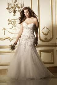 strapless plus size wedding dresses brides