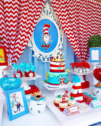 dr seuss birthday party supplies sweet table from a dr seuss birthday party on kara s party ideas
