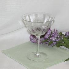 Hughes Cornflower Crystal Cordials Cornflower Crystal Glasses Ebay