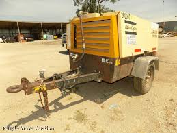 1999 atlas copco xas96 air compressor item da3056 sold