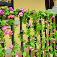Flower Wholesale Buy Simulation Fake Foliage Vines Decorative Flowers Artificial