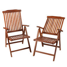 Folding Patio Furniture Set by Torino Teak Wood Folding Patio Chairs Set Of 2 Christmas Tree