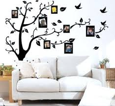 wall decal sticker removable photo frame tree family quote